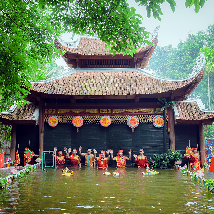 Cultural Values of Nguyen Xa Traditional Water Puppet Troupe