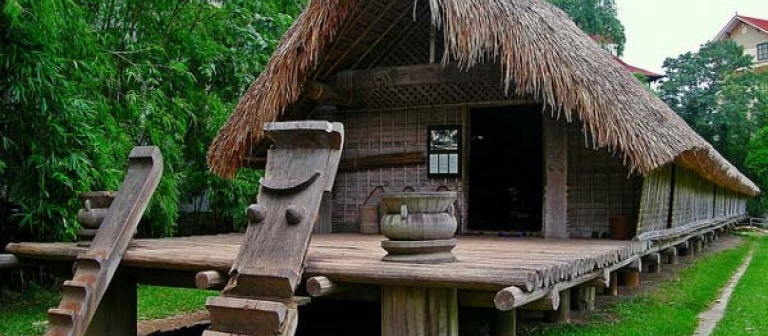 A folk house at Vietnam Museum of Ethnology